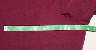 TNG season 2 admiral uniform - chest measurement