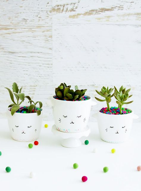sweet-simple-diy-sleepy-kitten-planters