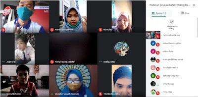 Astra Motor Kalimantan Barat Edukasi Siap #Cari_Aman di SMP N 10 Pontianak