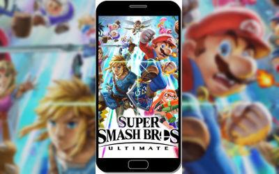 Super Smash Bros Ultimate Persos - Fond d'Écran en QHD pour Mobile
