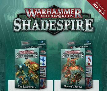New Shadespire Warbands Coming April 14th