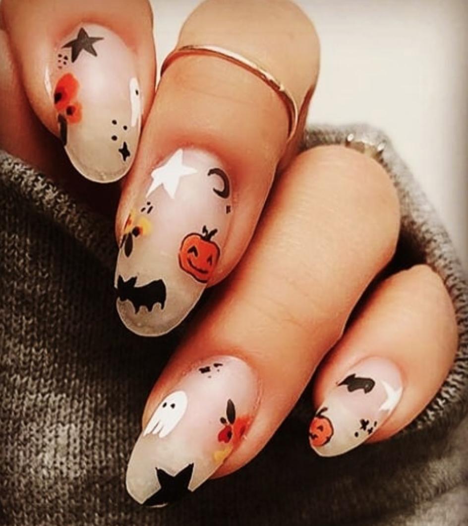 Halloween Nails | biblio-style.com