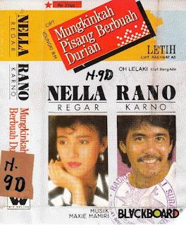 Rano Karno feat Nela Regar - Lain Di Bibir Lain Di Hati ( Karaoke )