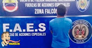 Delincuente detenido en Falcón tras torturar y matar a un gato y otros animales