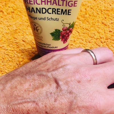 Oma Gertrude, crema de manos,