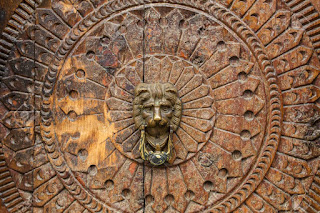 Vashisht Temple Door Kullu Valley, hp