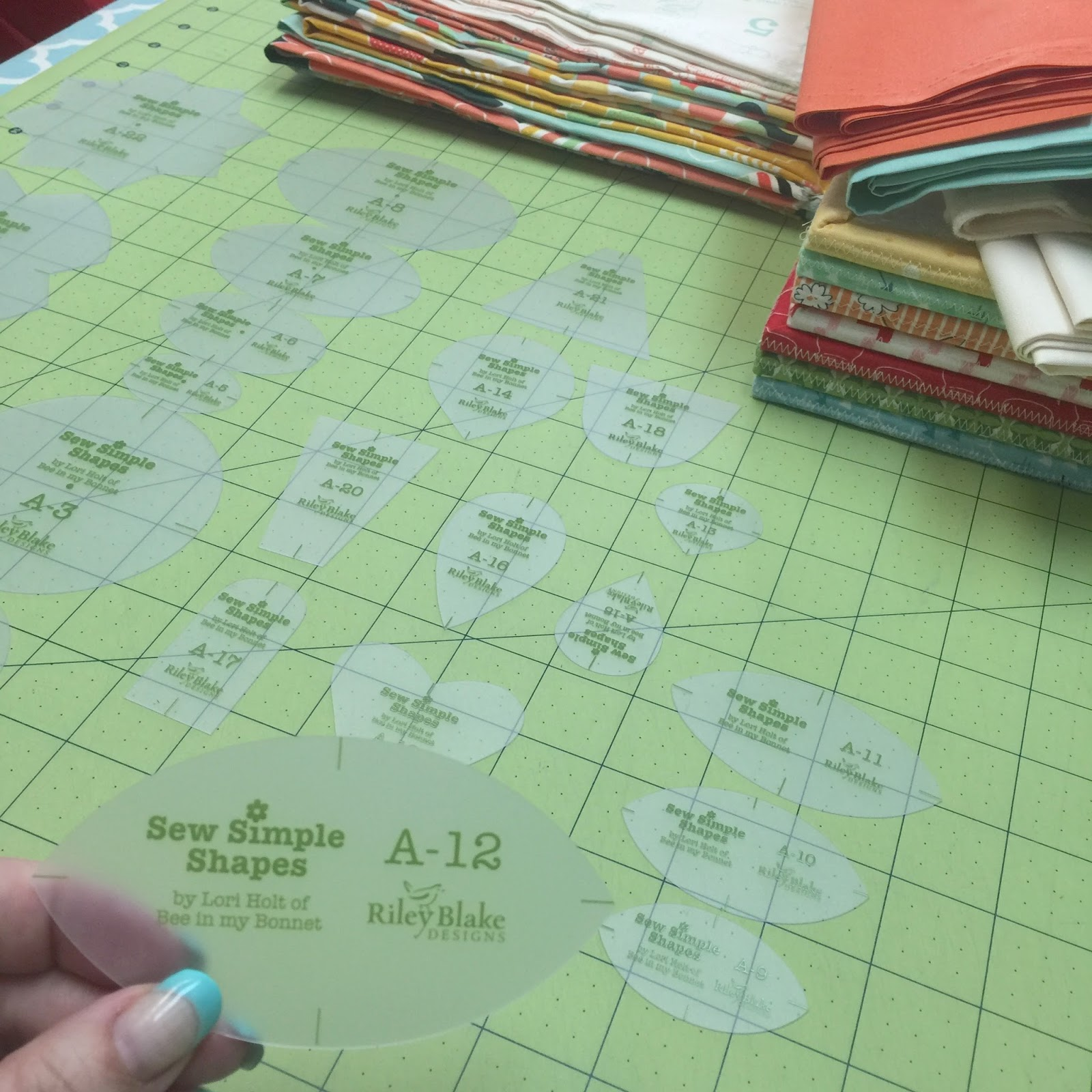 BLOOM Sew Simple Shapes - Traditional Hand Applique Method