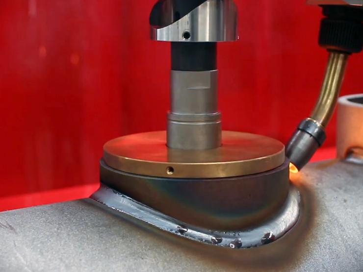 Автоматизация сварки перпендикулярно врезанных труб