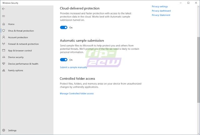 Fitur Cloud-Delivered Protection