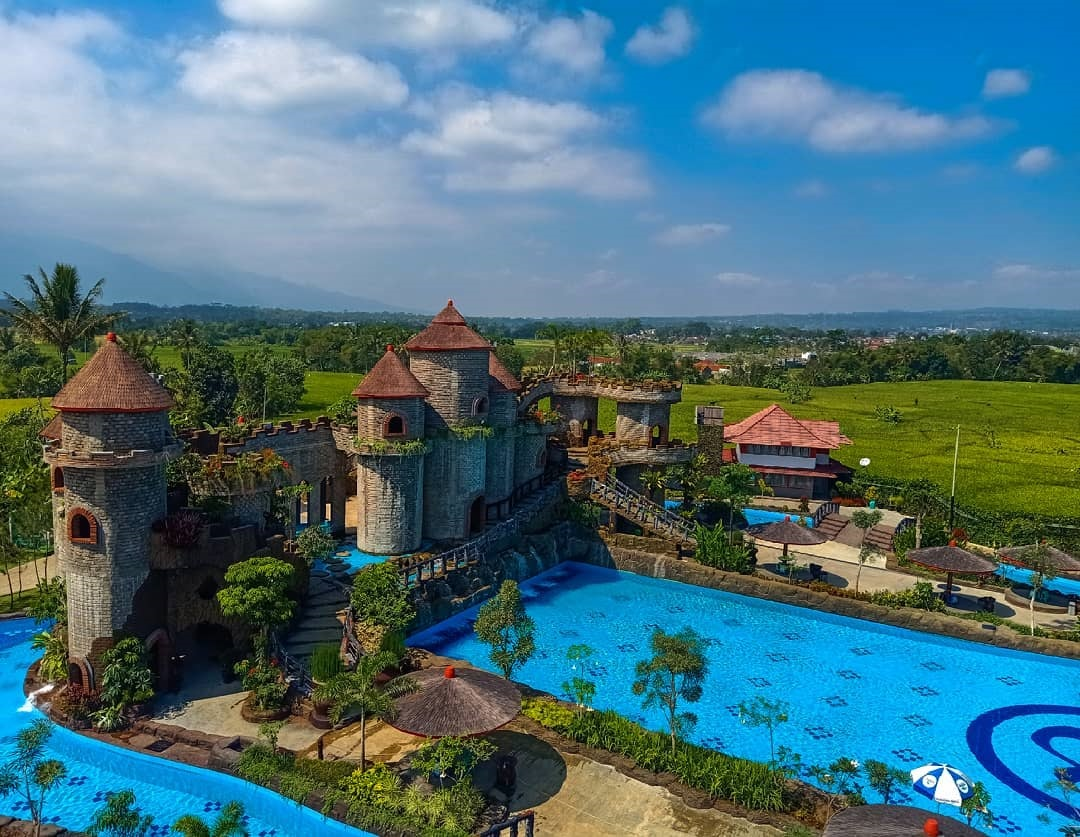 Ampera Waterpark Ciawi Tasikmalaya Jawa Barat