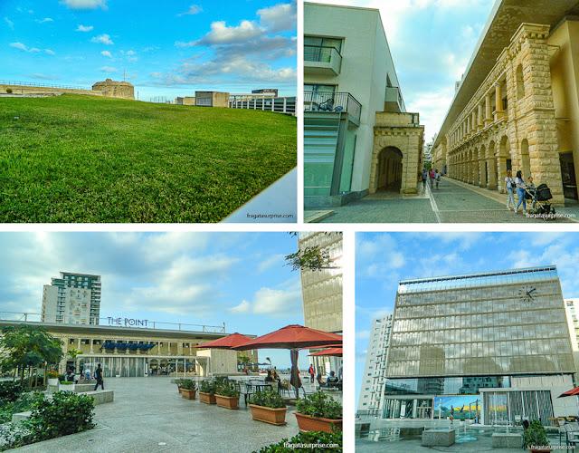 The Point Shopping Mall, em Sliema, Malta