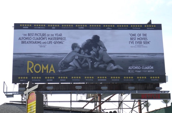 Roma For your consideration billboard