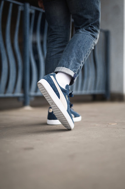 competitive price 66e64 aede2 Puma Basket Classic On Feet ukrainesolidarity.co.uk