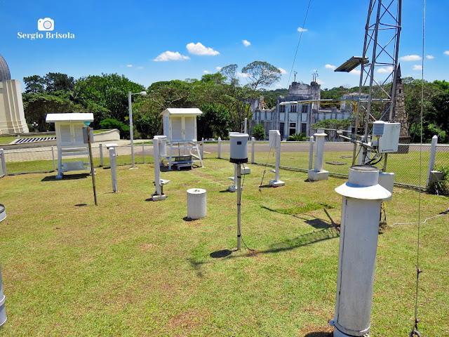Vista ampla da Estação Meteorológica - Parque CienTec - Água Funda - São Paulo