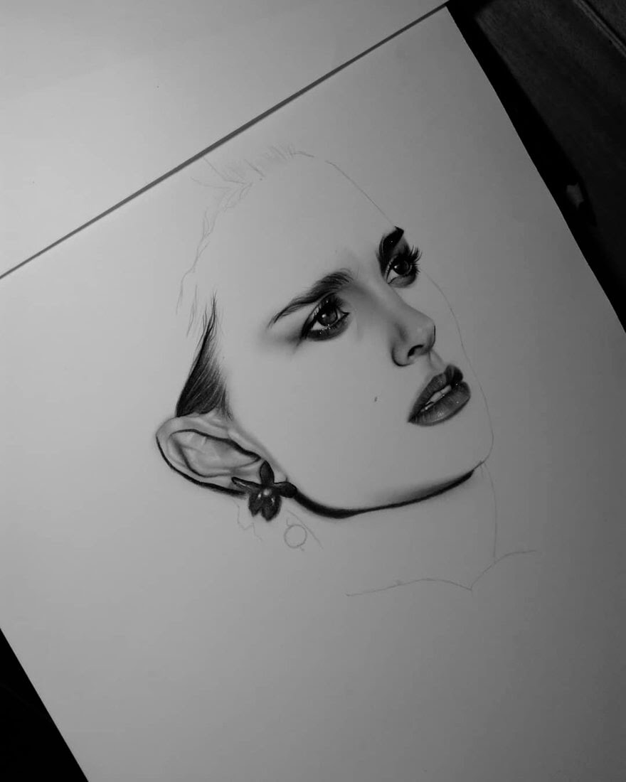 09-D-Ponjavić-WIP-Pencil-Portrait-Drawings-www-designstack-co
