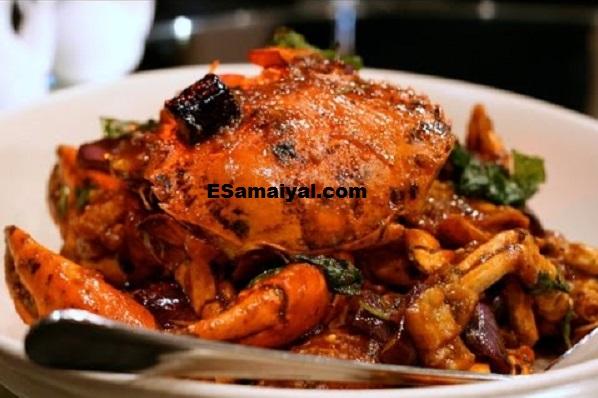 நண்டு வறுவல் செய்வது | Crab Curry !