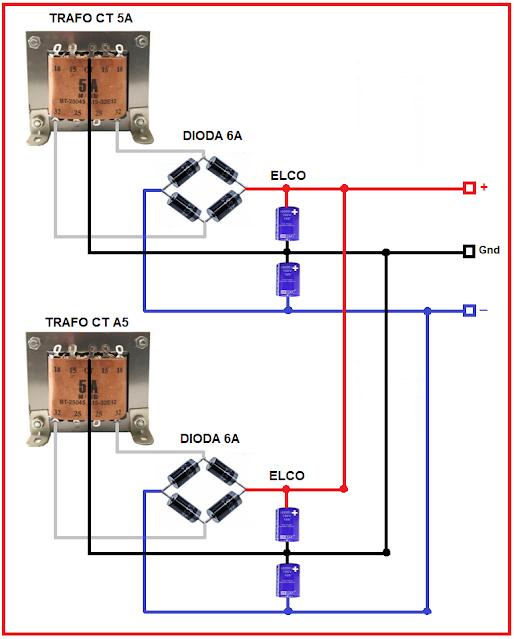cara parallel trafo untuk menambah arus ampere
