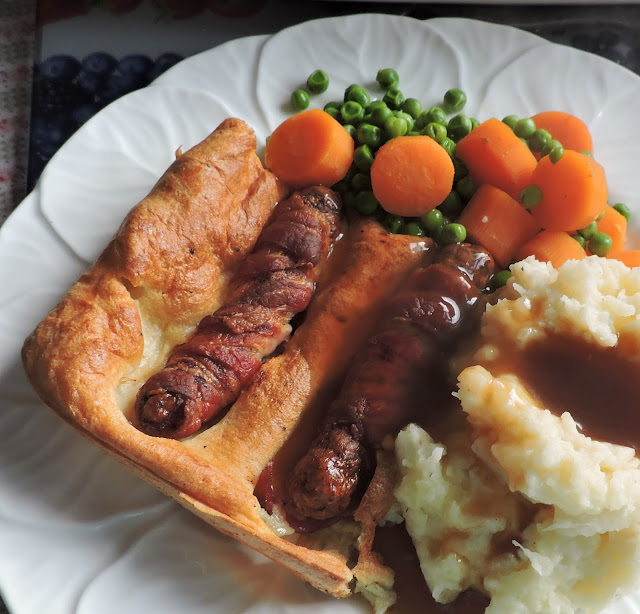 Bacon & Sausage Toad in the Hole