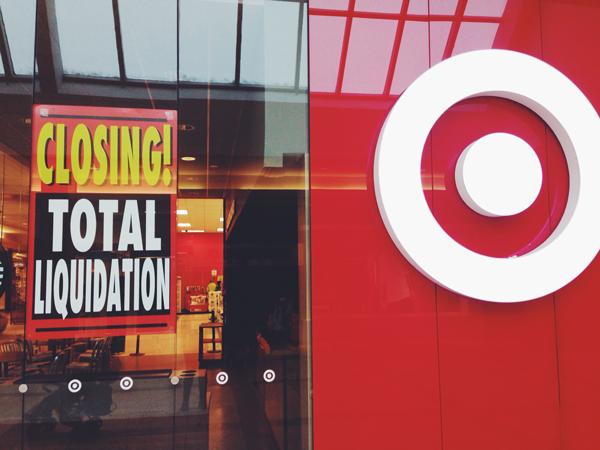 Target closing in Alberta Canada