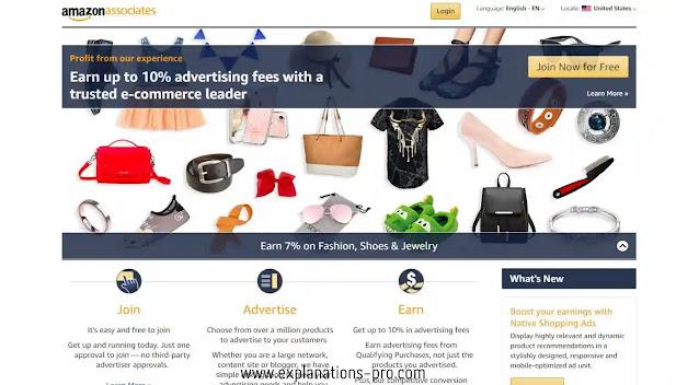 12. Amazon Associates – Good Google AdSense Alternative