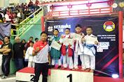 Atlet Karate Bersaudara Rebut Juara Nasional.