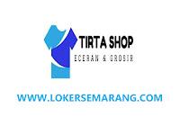 Loker Desain Grafis di Semarang Tirta Shop