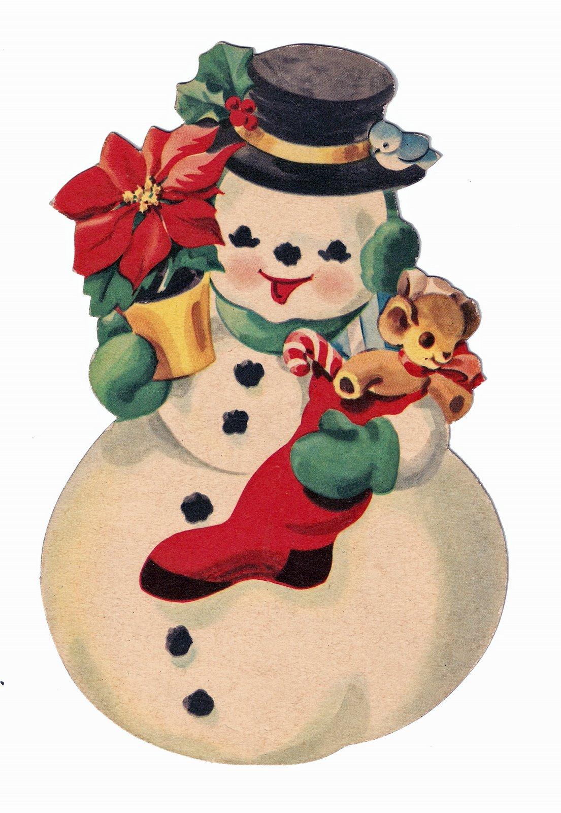 Free Christmas Printable: Nostalgic Collage': Merry Christmas! Free Victorian Images