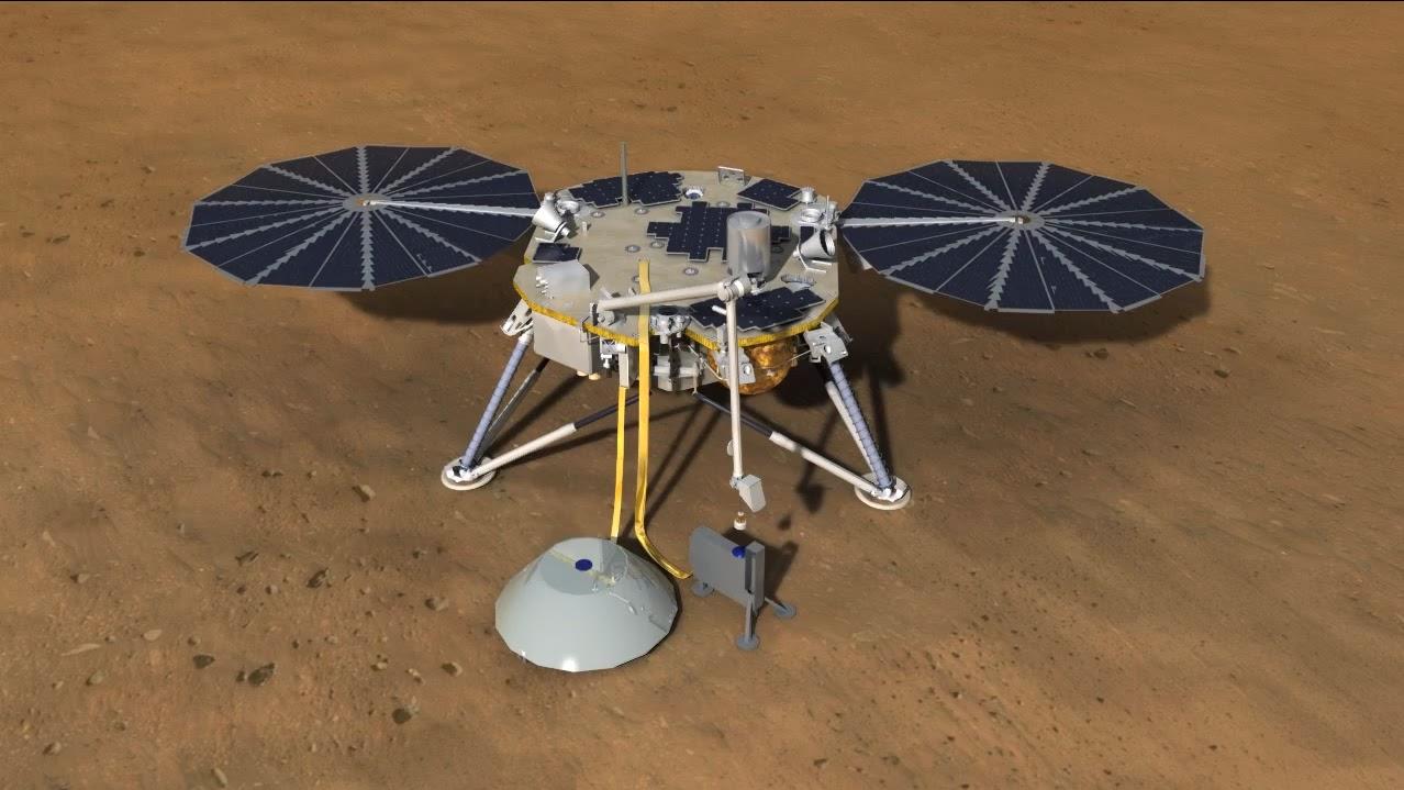 mars insight landing animation - photo #17
