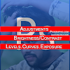 Brightness Contrast Levels Curves Exposure Adjustments ps hindi