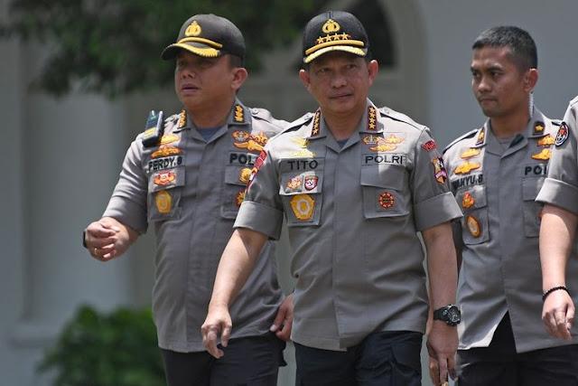 Jabatan Baru Tito Karnavian Resmi Menjadi Menteri Dalam Negeri RI 2019-2024