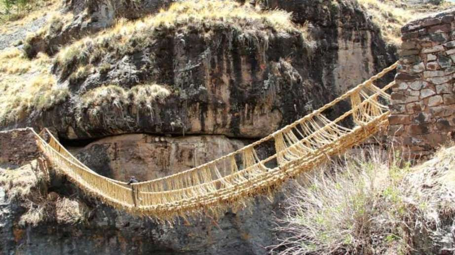 inca rope bridge - photo #1