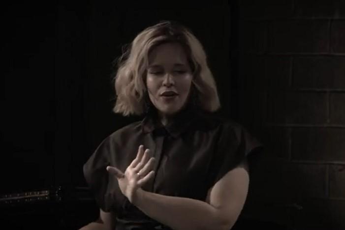 IN REVIEW: soprano MARIA BREA as Olga in Teatro Grattacielo's streamed production of Umberto Giordano's FEDORA, December 2020 [Image © by Teatro Grattacielo]