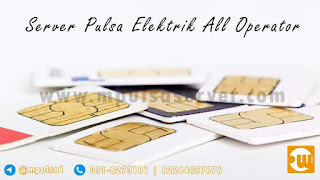 server pulsa elektrik all operator