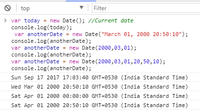 how to compare dates in javascript