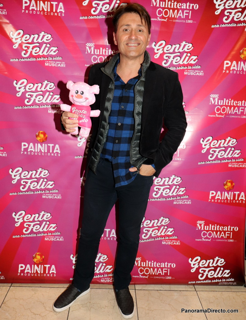 Daniel Gómez Rinaldi en el Multiteatro