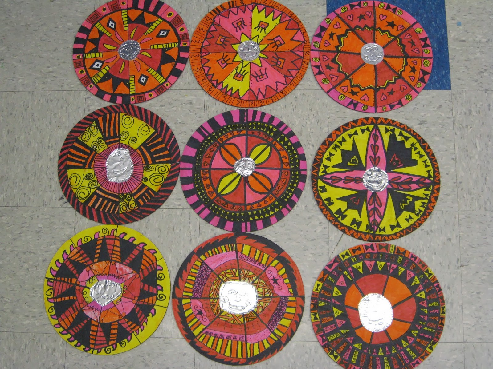 Jamestown Elementary Art Blog 3rd Grade Mexican Patterned