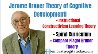 Bruner Theory of cognitive development, Jerome Bruner Theory