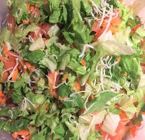 Sour Strawberry Raisins Salad