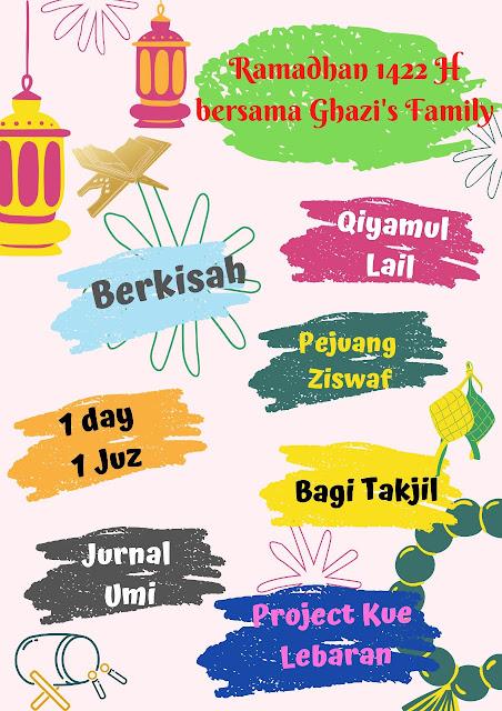 Jurnal Ramadhan Ghazi's Family 1442 H