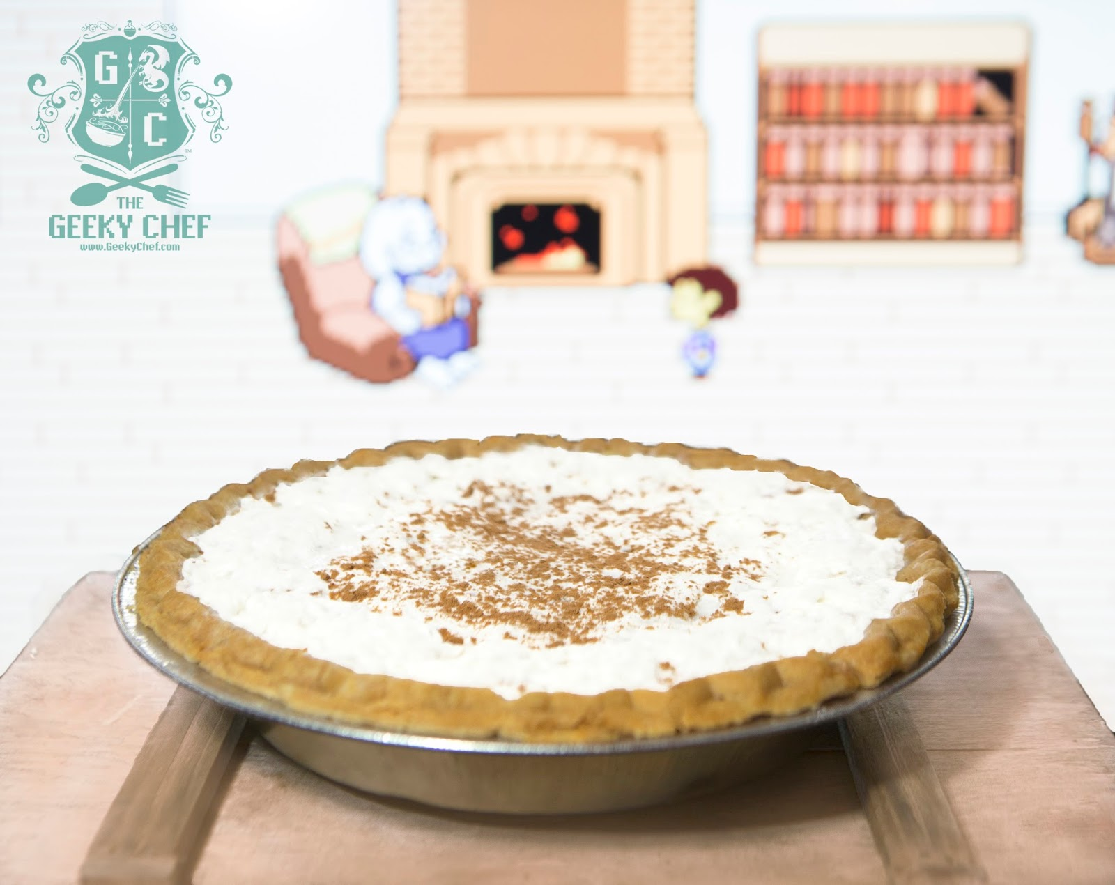 Toriel's Butterscotch Cinnamon Pie | The Geeky Chef