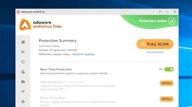 برنامج Ad-Aware Free Antivirus