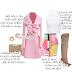 Blogtober 5: Soft Pink + Trench Coat