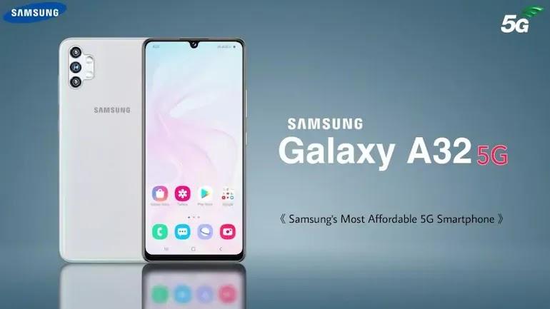 Samsung Galaxy A32 5G مع كاميرات خلفية رباعية بدقة 48 ميجابكسل وبطارية 5000 مللي أمبير في الساعة: السعر والمواصفات