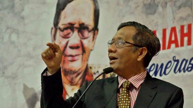Mahfud MD Sebut Hukuman di Indonesia Tak Adil, Pengendara Motor Langsung Dipenjara Koruptor Keliaran