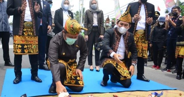 Bupati OKU Selatan Beserta Gubernur Sumsel Resmikan Jalan RSUD Muaradua