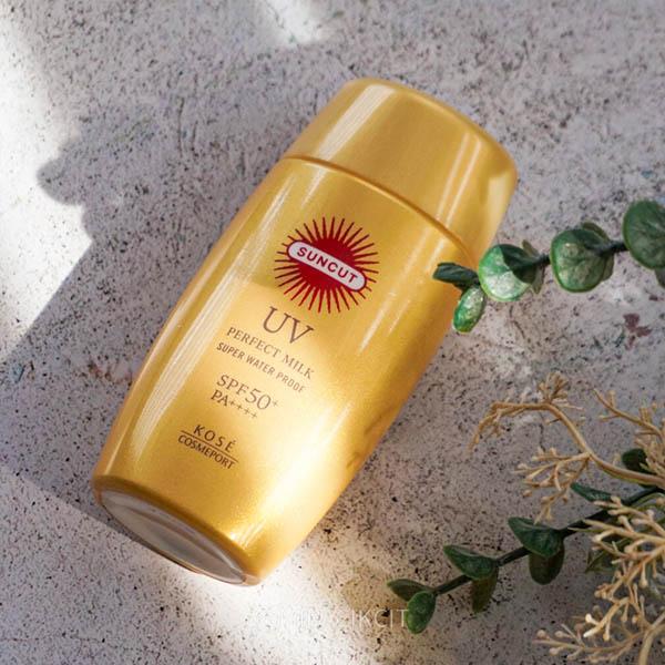 Kose Cosmeport Suncut UV Perfect Milk Review