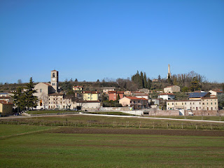 The village of Custoza in the Veneto