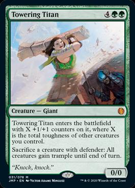 Magic: The Gathering Arena -Jumpstart card
