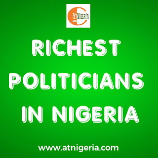 Richest politicians in Nigeria for this year