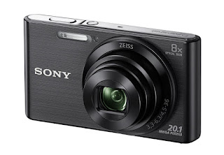 Sony DSC W830 Cyber-Shot 20.1 MP Point and Shoot Camera (Black)